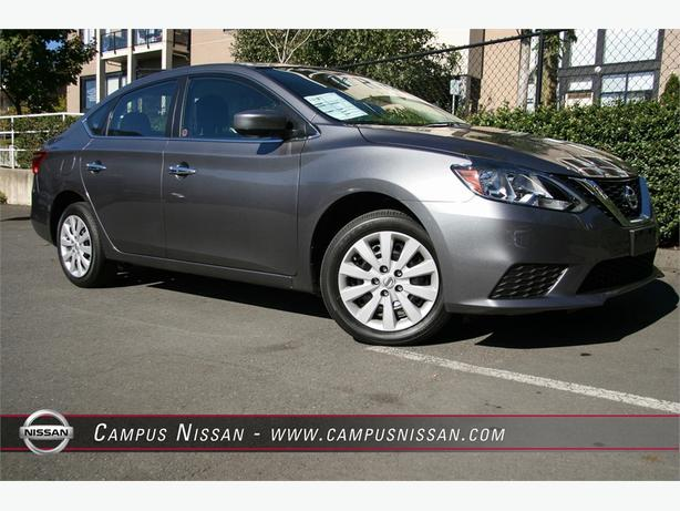 2016 Nissan Sentra S 6-spd Manual