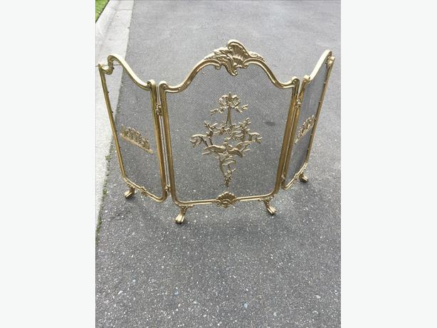Antique fireplace items