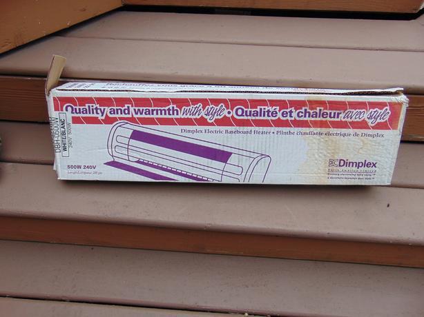 240 v baseboard heater