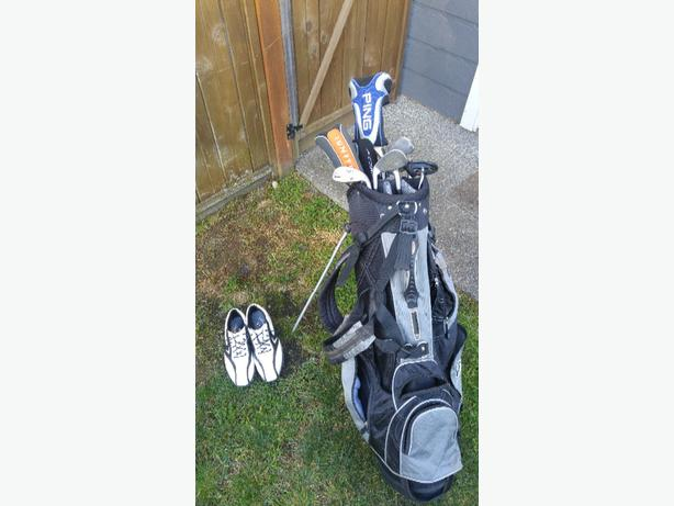nike golf clubs and callaway shoes