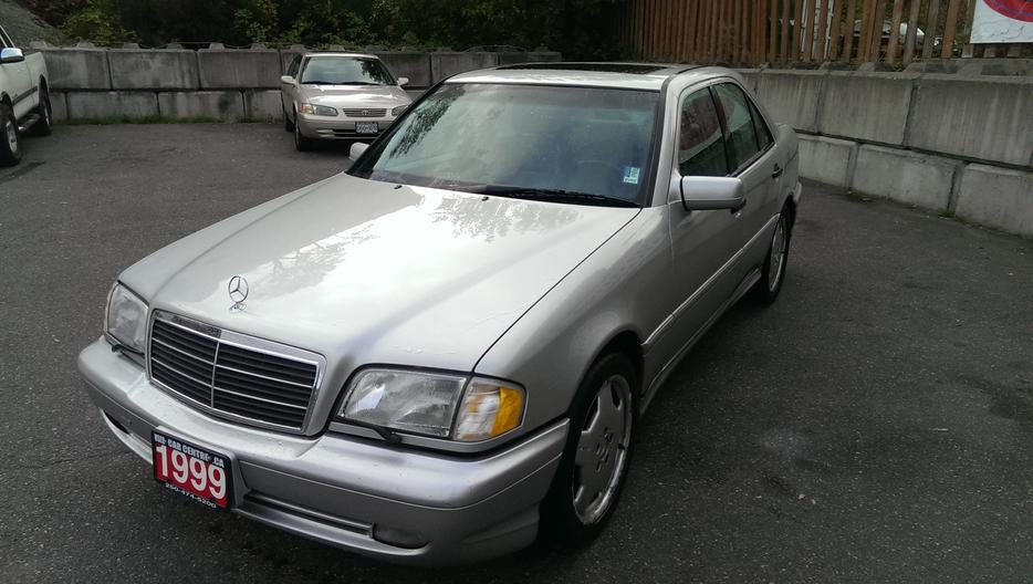 1999 mercedes benz c43 amg sedan local car great for Mercedes benz bay ridge