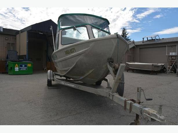 SOLD Used Eagle Craft Aluminum Boat