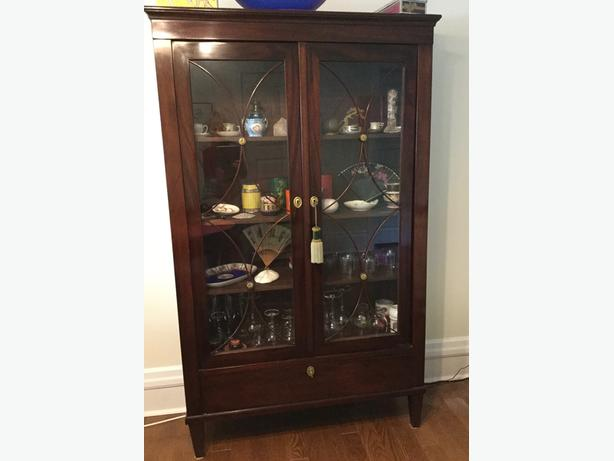 Antique Display Cabinet for sale