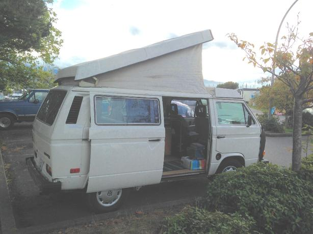 83 VW pop top camper