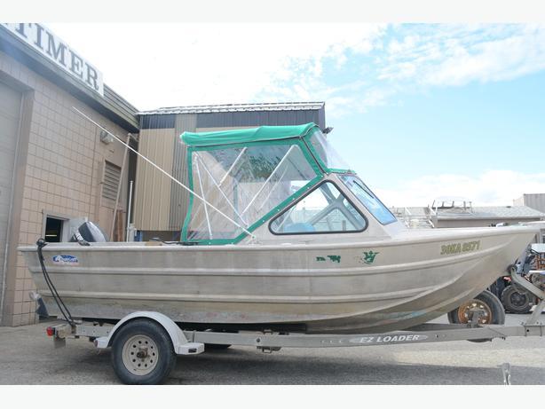 SOLD Used Eagle Craft Aluminum Boat