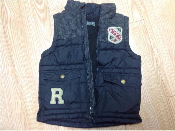 Roots fall winter vest