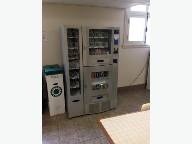 Office Deli 3 in 1 Vending Machine on site - Very Good Condition