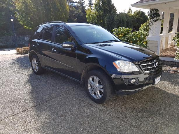 2007 mercedes ml 320 cdi west shore langford colwood metchosin highlands victoria. Black Bedroom Furniture Sets. Home Design Ideas