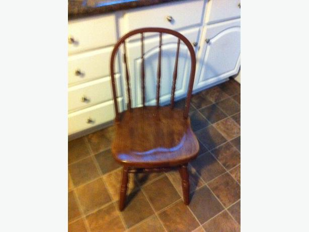 colonial painted wood chairs