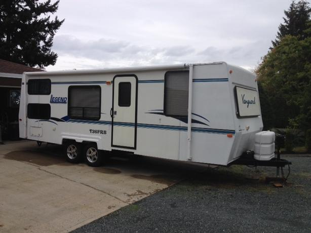 2000 - Vanguard 26 ft Travel Trailer
