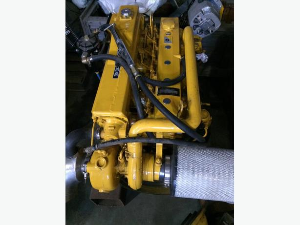 John Deere Model 6068TM Marine Engine