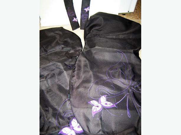 Butterfly Car Seat Covers & Seat Belt Pads