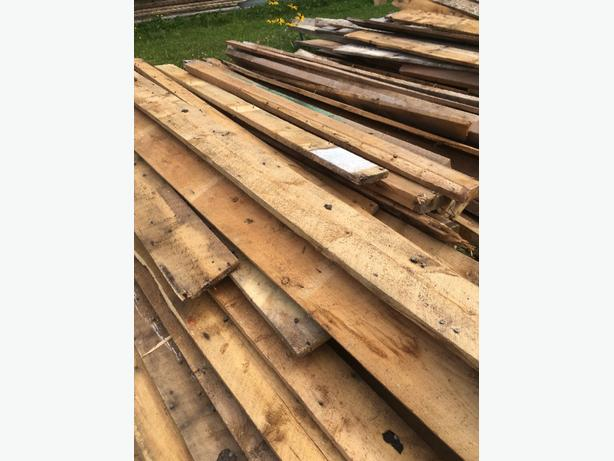 WANTED: rough cut lumber / barn boards