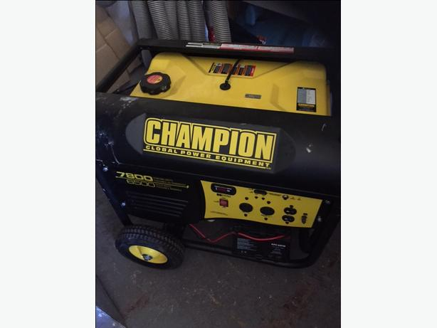 Champion 6500 generator