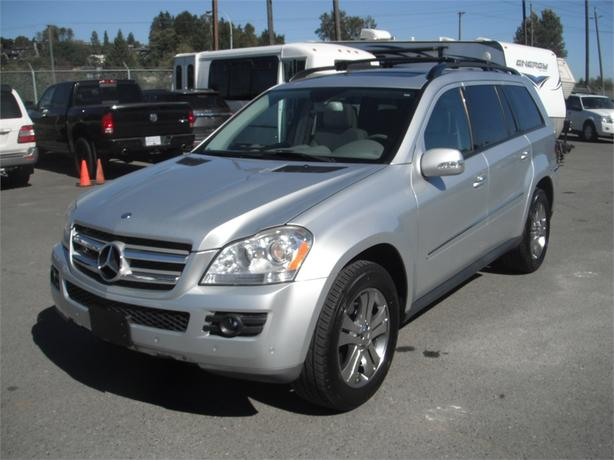 2008 mercedes benz gl 450 4matic with 3rd row seating outside comox valley campbell river. Black Bedroom Furniture Sets. Home Design Ideas