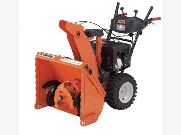 NEW COLUMBIA 3-STAGE CA324HD SNOWBLOWER IN STOCK AT DSR