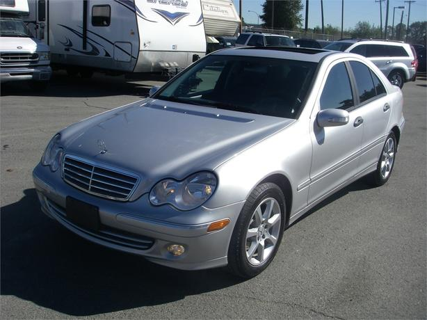 2005 mercedes benz c class c230 k sport sedan outside comox valley campbell river. Black Bedroom Furniture Sets. Home Design Ideas