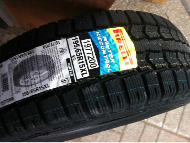 BrandNew 195/65/R15 Pirelli Winter Ice Control snow/winter Tires