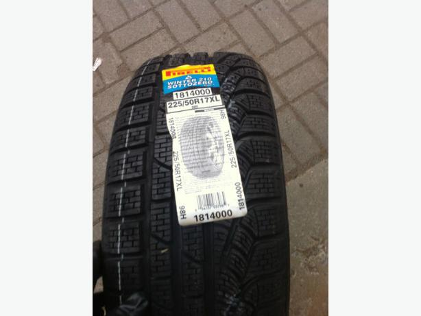Brand new 225/50/R17 Pirelli 210 Winter Sotto Zero winter tires