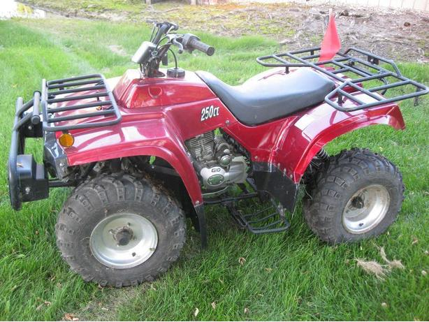NEW 250 cc GIOVANNI QUAD & TIRES