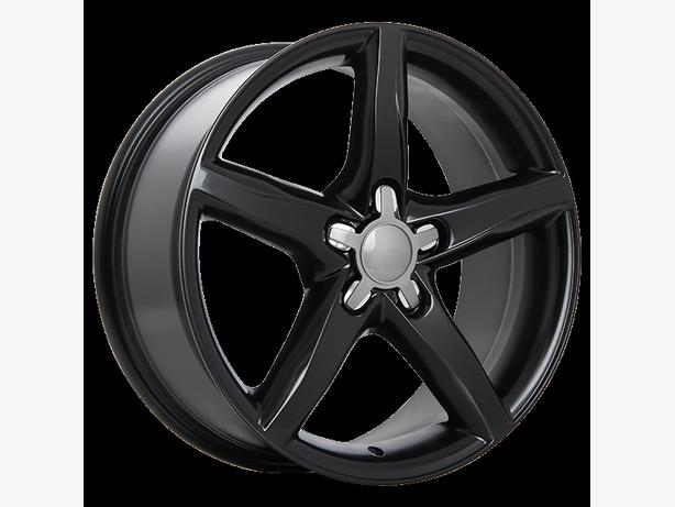 "NEW 18"" Audi / Volkswagen / Mercedes Gloss Black reps (5x112)"