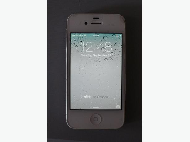iphone 4 - 16gb White - telus network