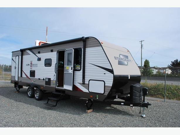 2017 AR-ONE 27BHS bunk model travel trailer.
