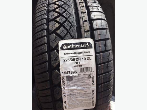 BrandNew 225/35/R19 Continental ExtrmeContact DWS All Seasons