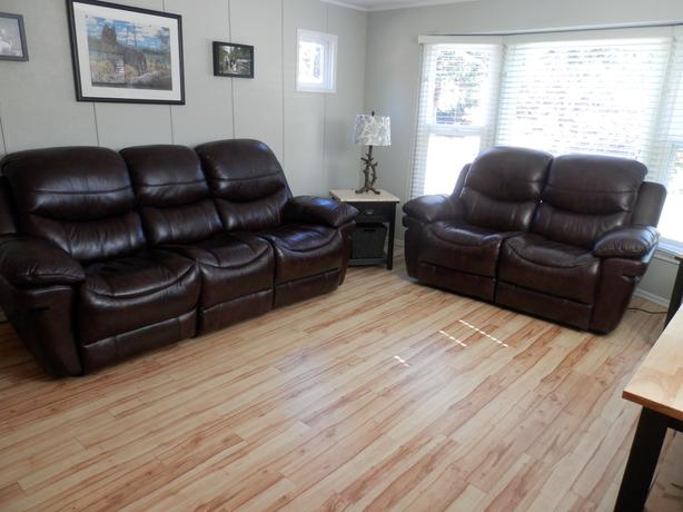 Great Saving on High Quality Leather Couch Set $3400
