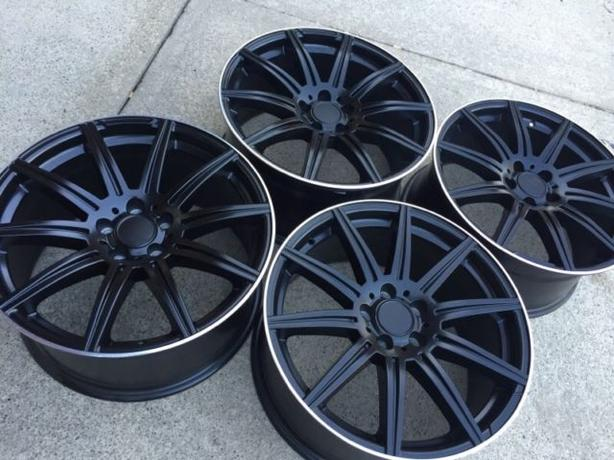 """NEW 19"""" Mercedes E63 / CLS63 AMG Staggered Reps – VW / Audi"""