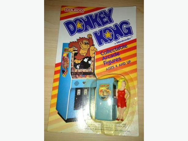1981 Coleco Donkey Kong Figure - Never Opened