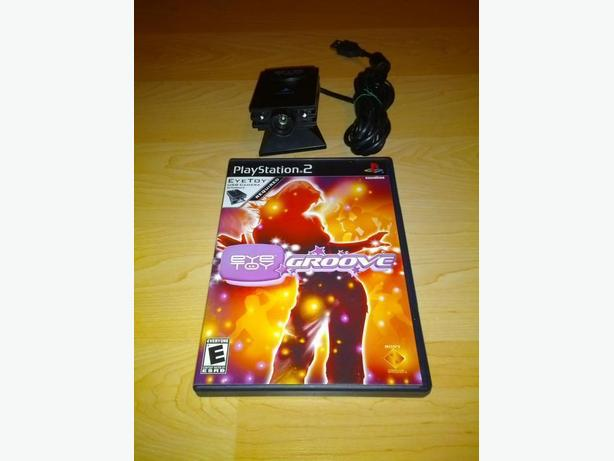 Playstation 2 Eye Toy Camera With Game