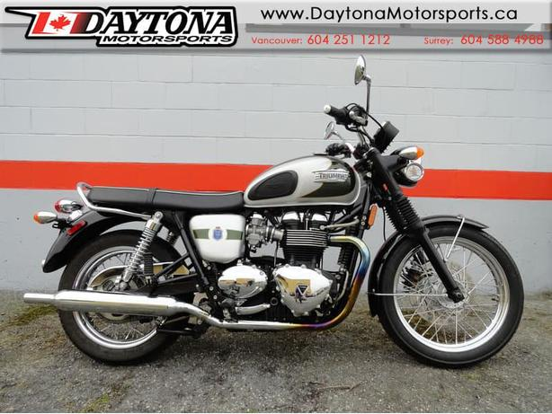 2012 Triumph Bonneville T100 LE * 110th Anniversary Edition *