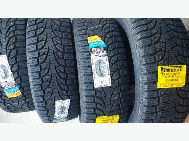 Brand new 255/55/R18 Pirelli Winter Carving Edge snow tires