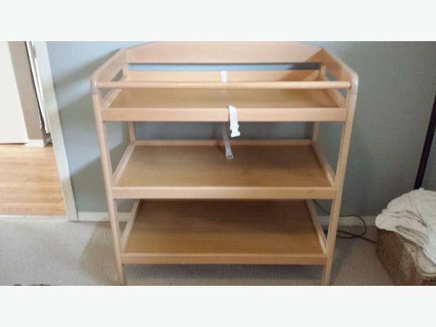 Wood Change Table
