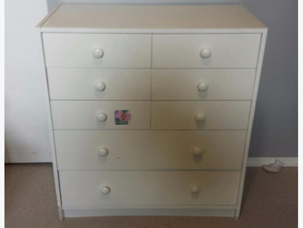 White Children's Dresser