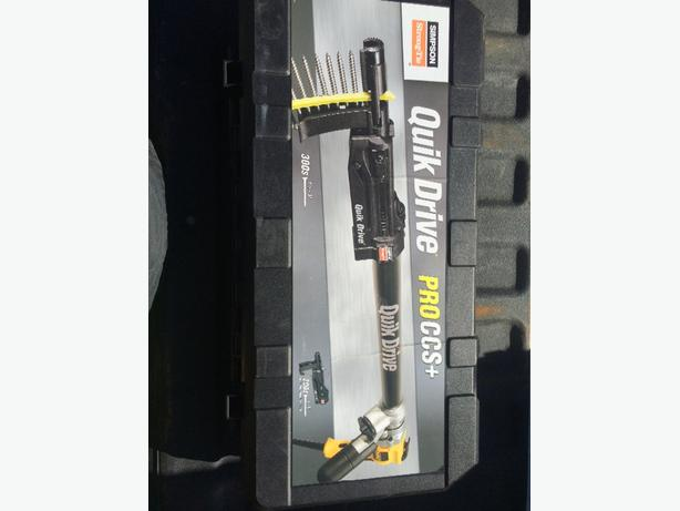 BRAND NEW Quick drive screw gun