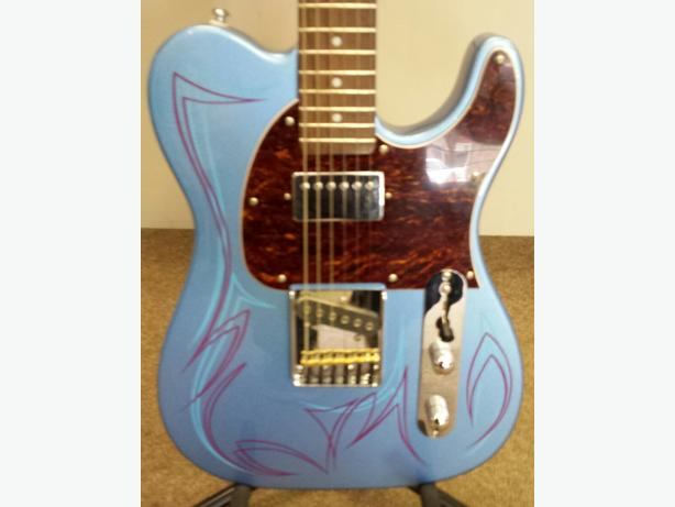 G&L Bluesboy Electric Guitar with Custom Pinstriping