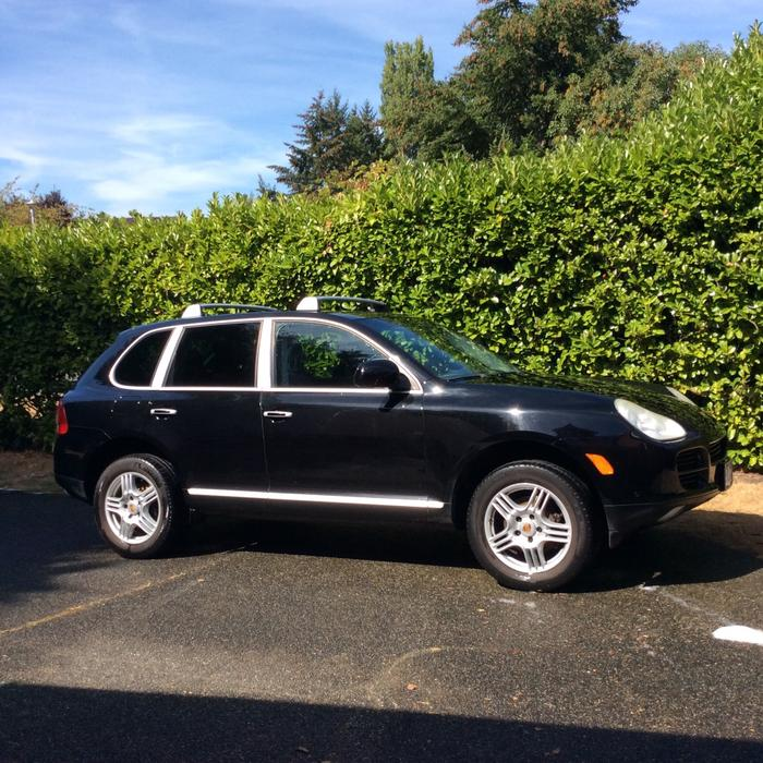 2005 porsche cayenne v6 with titanium package for sale saanich victoria mobile. Black Bedroom Furniture Sets. Home Design Ideas