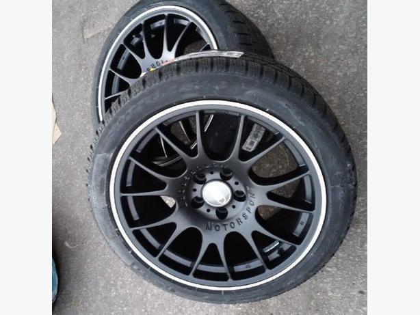 """NEW 18""""BBS CH reps(5x112)+ 245/40R18 Pirelli Snows- Audi A4 / A5"""