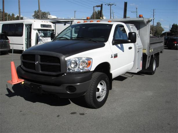 2008 Dodge Ram 3500 Regular Cab 2WD Cummins Diesel Dump Box Truck