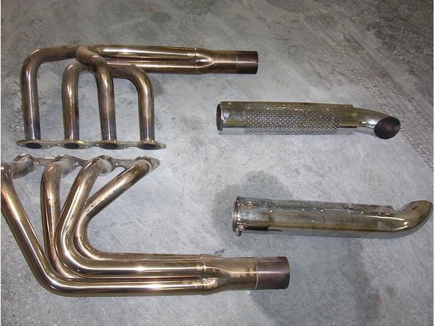 454 stainless hot rod headers