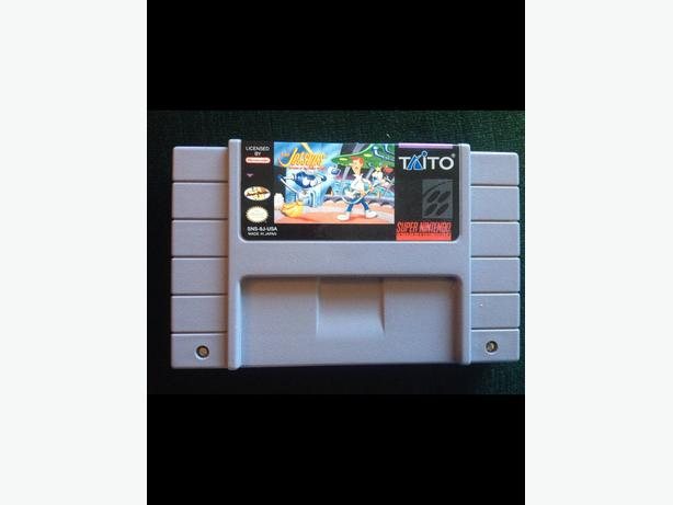 Very rare SNES game. The Jetsons