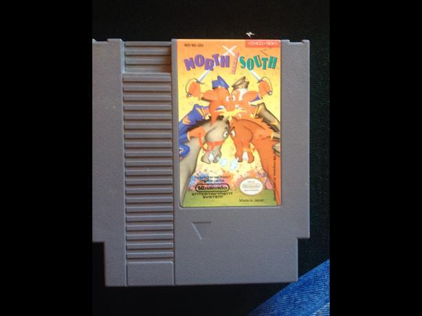 Very rare NES game  NORTH SOUTH