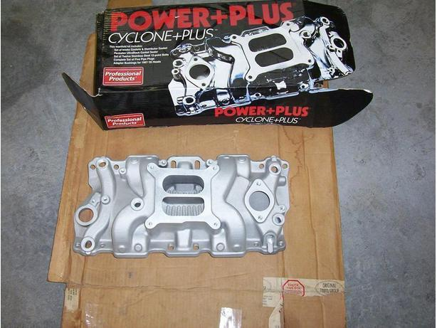 Aluminum intake small block chevy