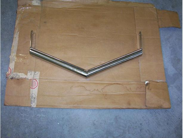 Bumper spreader bar for 1934 ford coupe