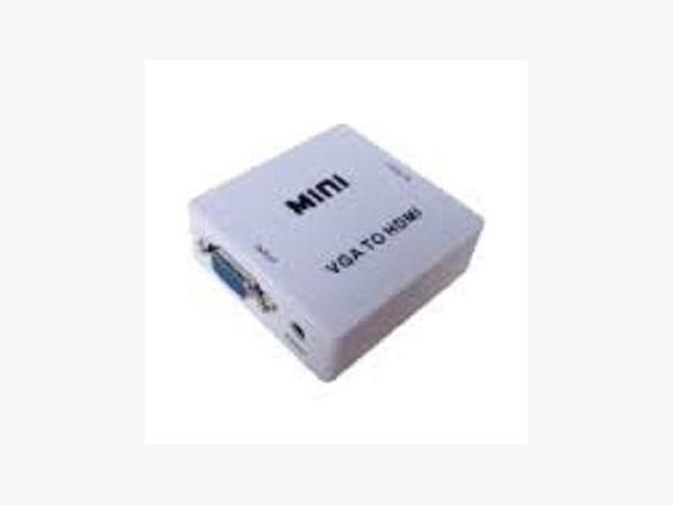 VGA + Audio R/L to HDMI Converter