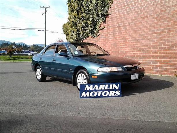 1996 Mazda 626 DX sedan