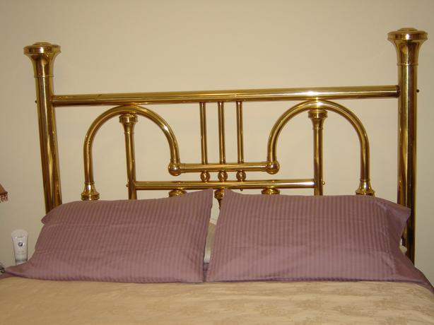 Queen Brass Bed