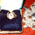 VERY RARE CANADIAN SCOTTISH ARMY OFFICERS RING